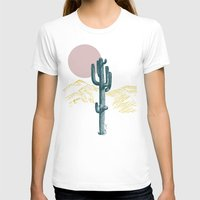 hace calor? Womens Fitted Tee White SMALL