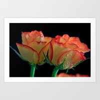 My Mothers Day Roses Art Print