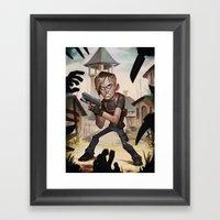 Resident Evil 4 Framed Art Print