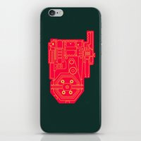 Circuit Drawing Of A Pro… iPhone & iPod Skin
