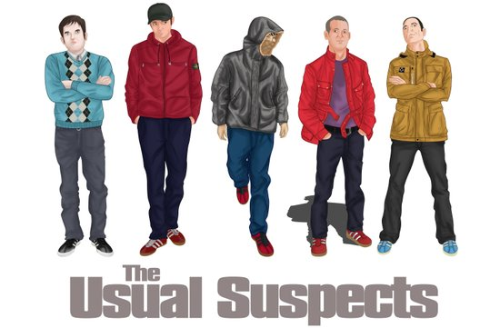 The Usual Suspect casual fashion style Art Print
