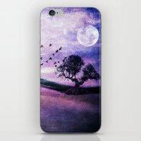 Purple Landscape iPhone & iPod Skin