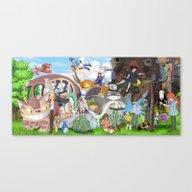 Ghibli Tribute Canvas Print