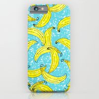 iPhone & iPod Case featuring Bananas by Aaryn West