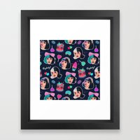 Cry Baby Framed Art Print