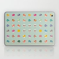 How to Tell Poison Mushrooms Laptop & iPad Skin
