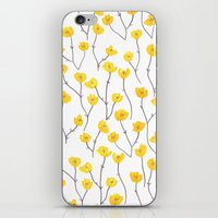 Buttercups iPhone & iPod Skin