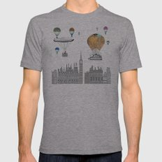 adventure days london  Mens Fitted Tee Athletic Grey SMALL