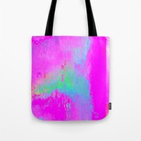 08-03-13 (Cave Glitch) Tote Bag