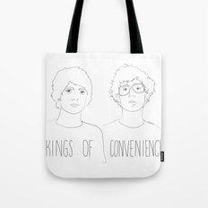 Kings of Convenience Tote Bag