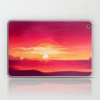 A Panoramic Sunset Laptop & iPad Skin