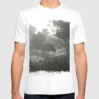 Foggy Path Mens Fitted Tee White SMALL