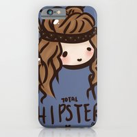 iPhone & iPod Case featuring Total Hipster by I3uu