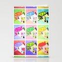 Unicorn Pop Art Stationery Cards