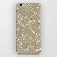 blue dot branches iPhone & iPod Skin