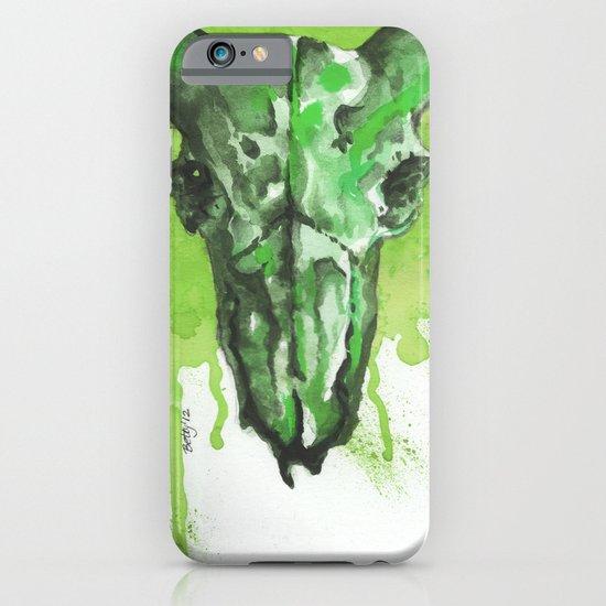GreenMoonSkull iPhone & iPod Case