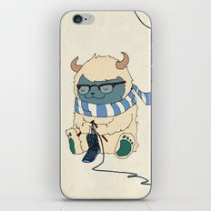 Knitting Train iPhone & iPod Skin
