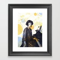 Drape Framed Art Print