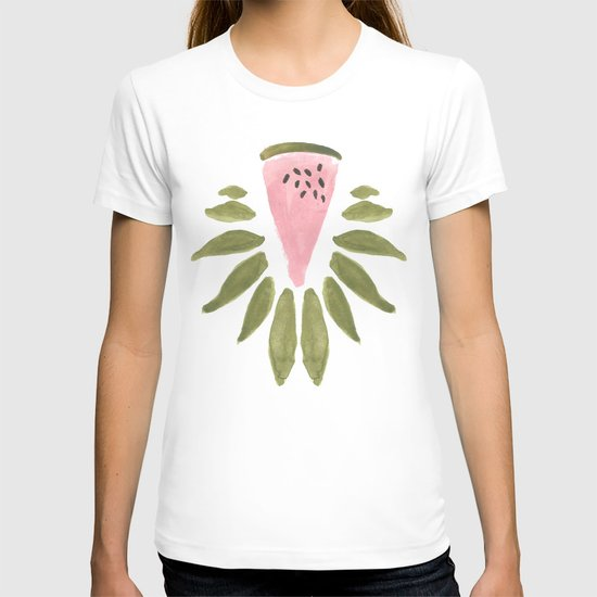 Watermelon and Leaves T-shirt