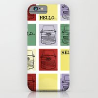 iPhone & iPod Case featuring Classic Typewriter by HarrietAliceFox