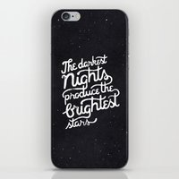 Darkest Nights iPhone & iPod Skin
