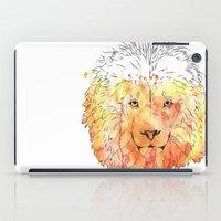 Watercolor Lion iPad Case