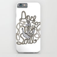 iPhone & iPod Case featuring Anchor My Soul by Josh Thomassen