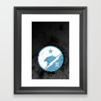 Halo - Blue Team Framed Art Print