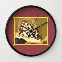 The Anatomy Lesson By Re… Wall Clock