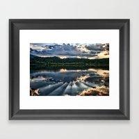 Summer Thunder Framed Art Print