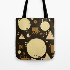 Geometry and equation Tote Bag