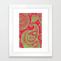 Paisley 4 Framed Art Print