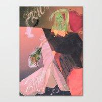 Kill, F-CK, Marry Canvas Print