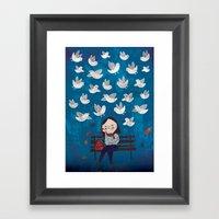 Catch Sight Of Wonders! Framed Art Print