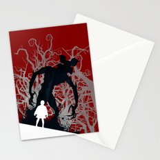 Stranger Things - TV Series | 80's | Cult | TV | Monster | Forest | Eleven | Movie | Poster Stationery Cards