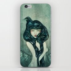 Oracle of the sodden raven iPhone & iPod Skin