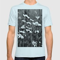 She's A Daisy Mens Fitted Tee Light Blue SMALL