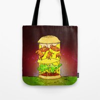UFO Burger Tote Bag