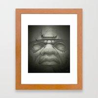 Olmeca I. Framed Art Print