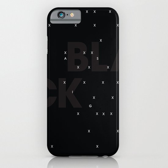 Black as night iPhone & iPod Case