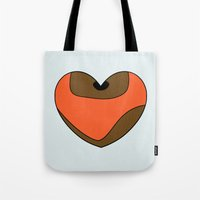 Wicket Character Heart Tote Bag