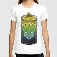 Sophronia , the talking head Womens Fitted Tee White SMALL