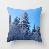 Breathtaking Throw Pillow