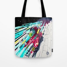 Faster Than GAME OVER V1… Tote Bag