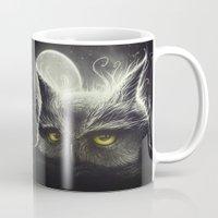 Owl & The Moon Mug