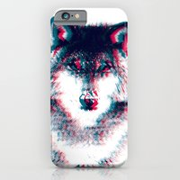 wolf iPhone & iPod Cases featuring Act like a wolf.  by Mason Denaro