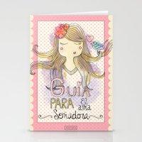 Guide for Dreamers / Guía para el alma soñadora Stationery Cards