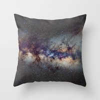 The Milky Way: From Scor… Throw Pillow