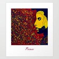 Prince Portrait Art Print