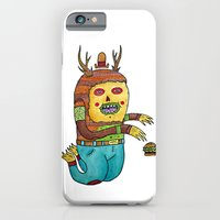 iPhone & iPod Case featuring Burger time. by Frenemy